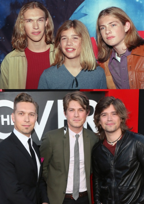 THE GROUP HANSON AT PLANET HOLLYWOOD IN NEW YORK